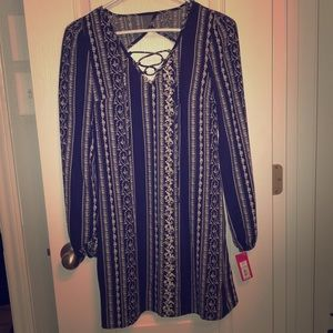Target flowy long sleeved dress